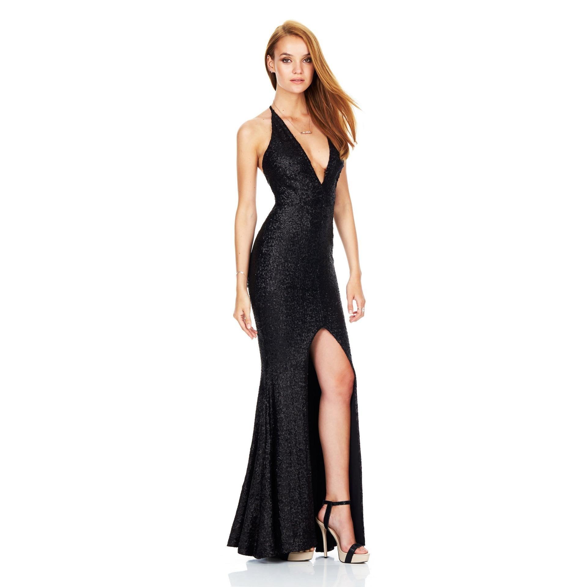 17 Genial Pailletten Kleid Abendkleid für 2019Formal Spektakulär Pailletten Kleid Abendkleid Design