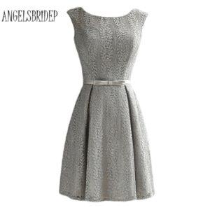 10 Schön Kleid Grau Vertrieb17 Großartig Kleid Grau Boutique