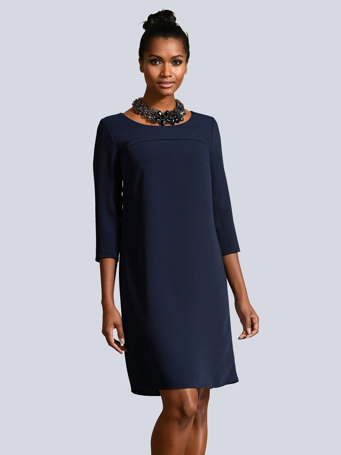 Abend Wunderbar Kleid Marineblau Ärmel13 Luxus Kleid Marineblau Galerie