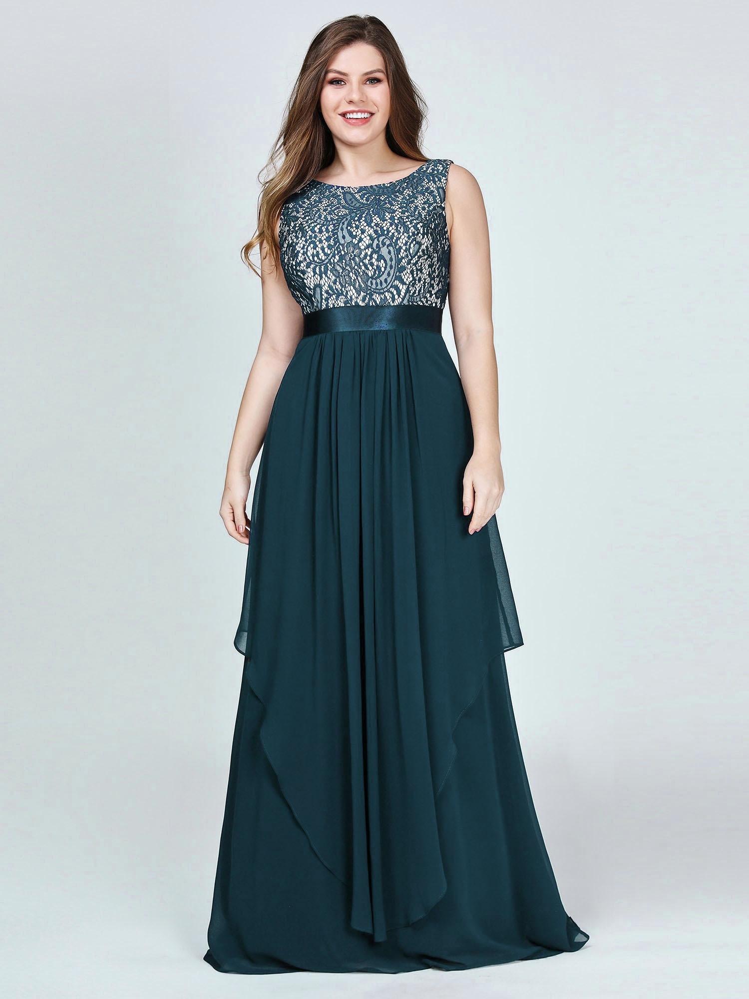 Formal Coolste Abendkleider Große Größen Ärmel - Abendkleid