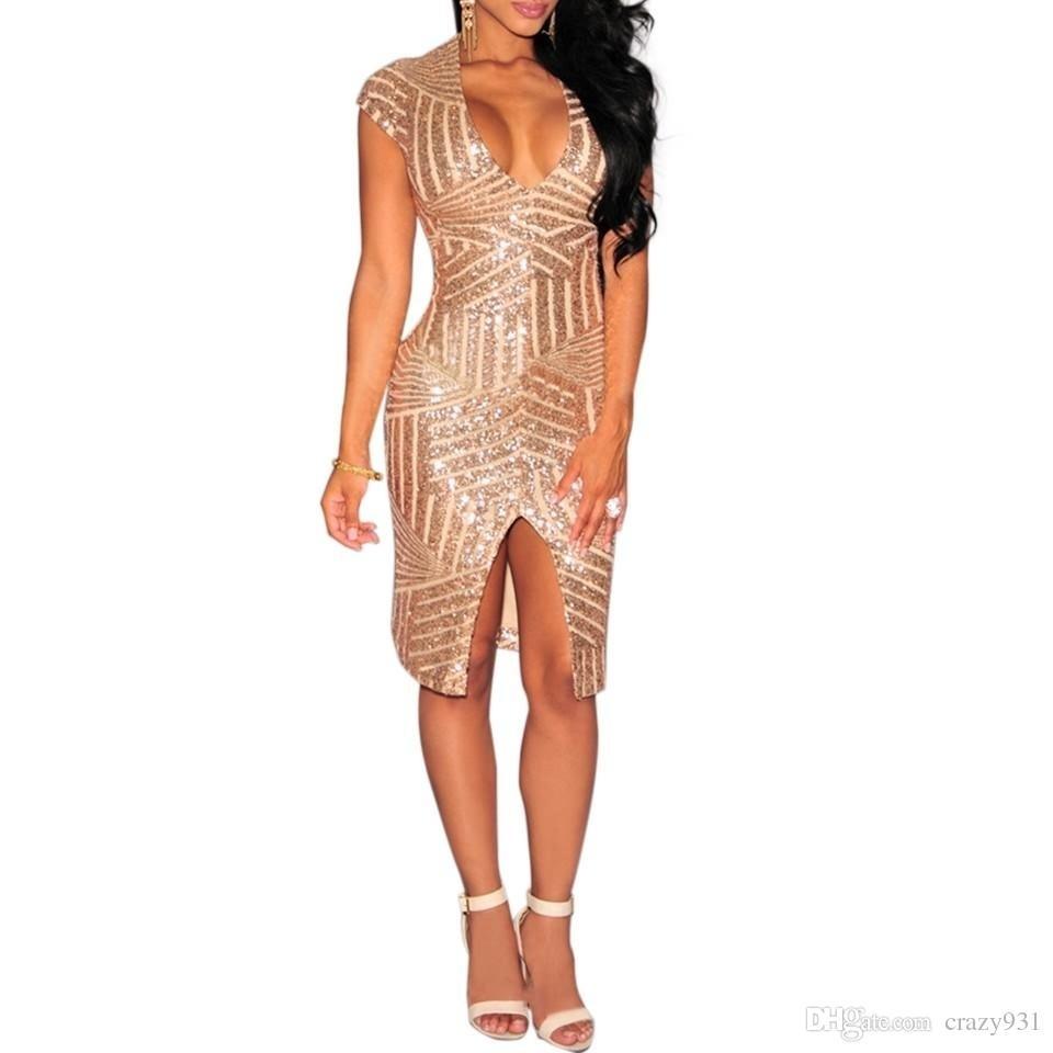 10 Einfach Pailletten Kleid Abendkleid Design15 Wunderbar Pailletten Kleid Abendkleid Ärmel