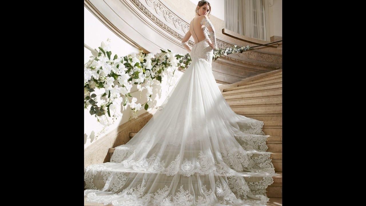 13 Genial Brautkleid Mit Schleppe Boutique10 Einzigartig Brautkleid Mit Schleppe Galerie