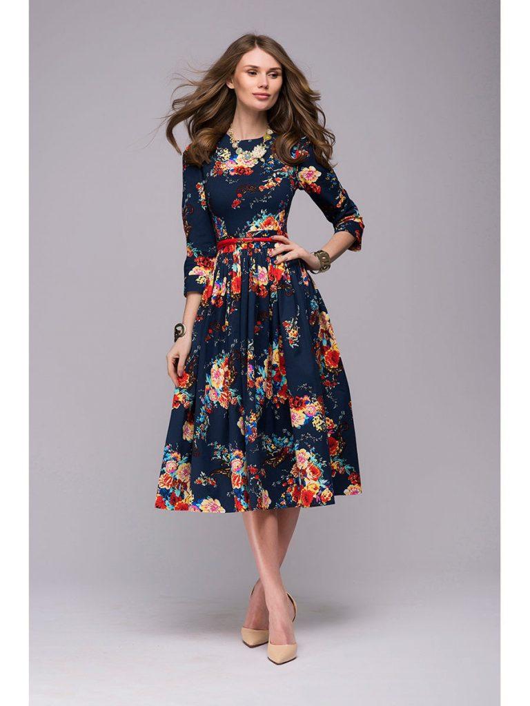 10 cool kleid mit blumen spezialgebiet - abendkleid