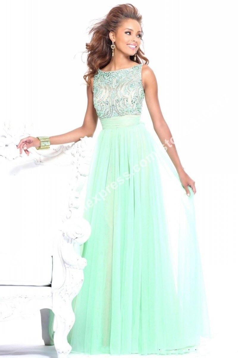 17 Spektakulär Kleid Mintgrün Lang für 201913 Cool Kleid Mintgrün Lang Boutique