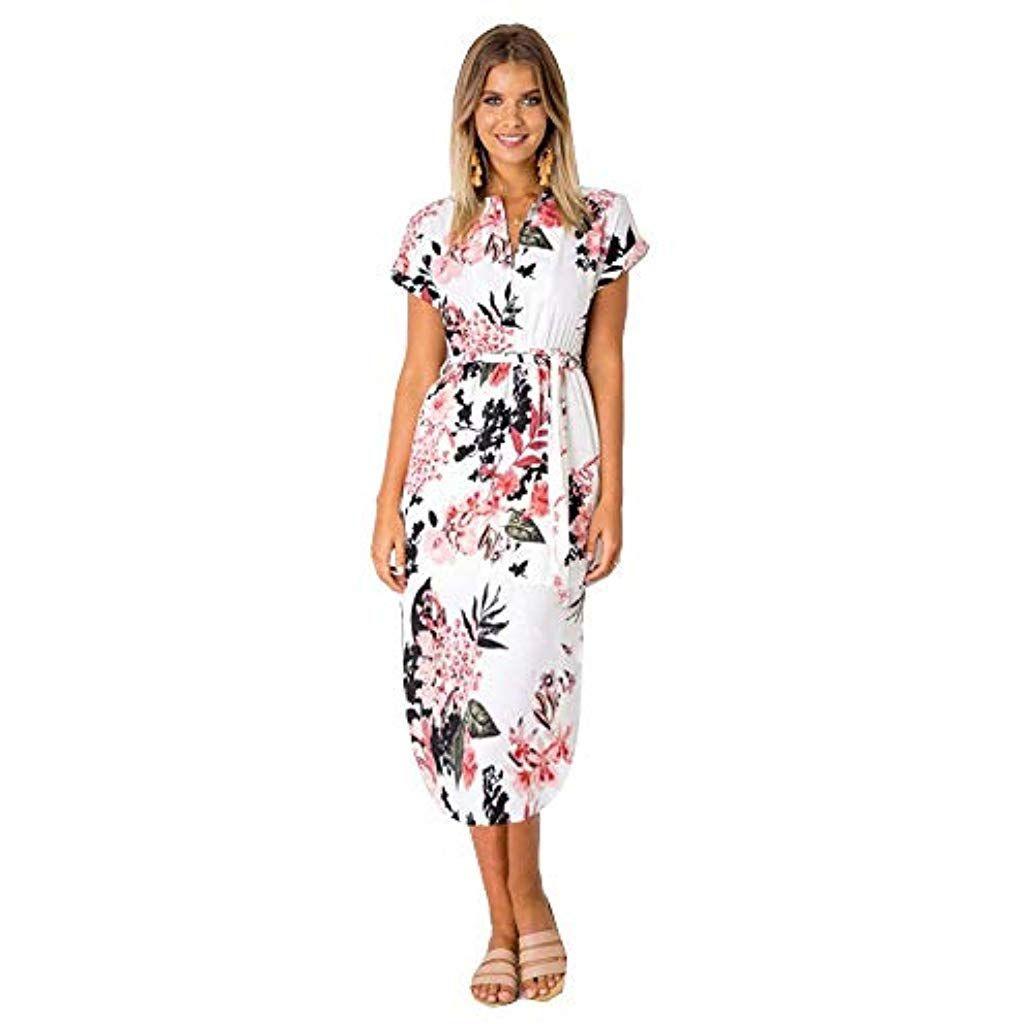 15 Genial Kleider Midi Sommer Stylish - Abendkleid
