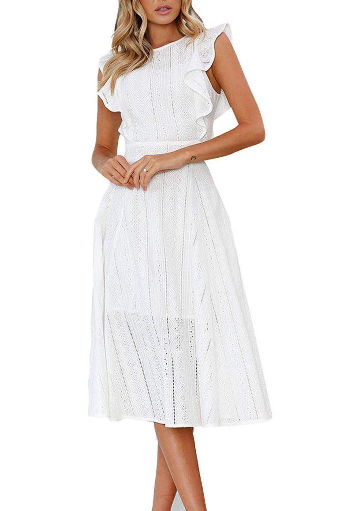 13 Genial Kleider Midi Sommer Galerie Abendkleid