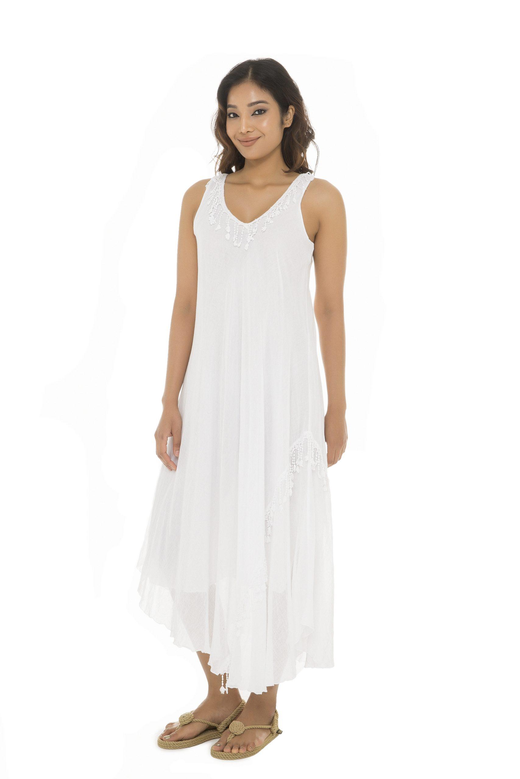 Designer Perfekt Sommerkleid Weiß Lang für 2019Formal Schön Sommerkleid Weiß Lang Spezialgebiet