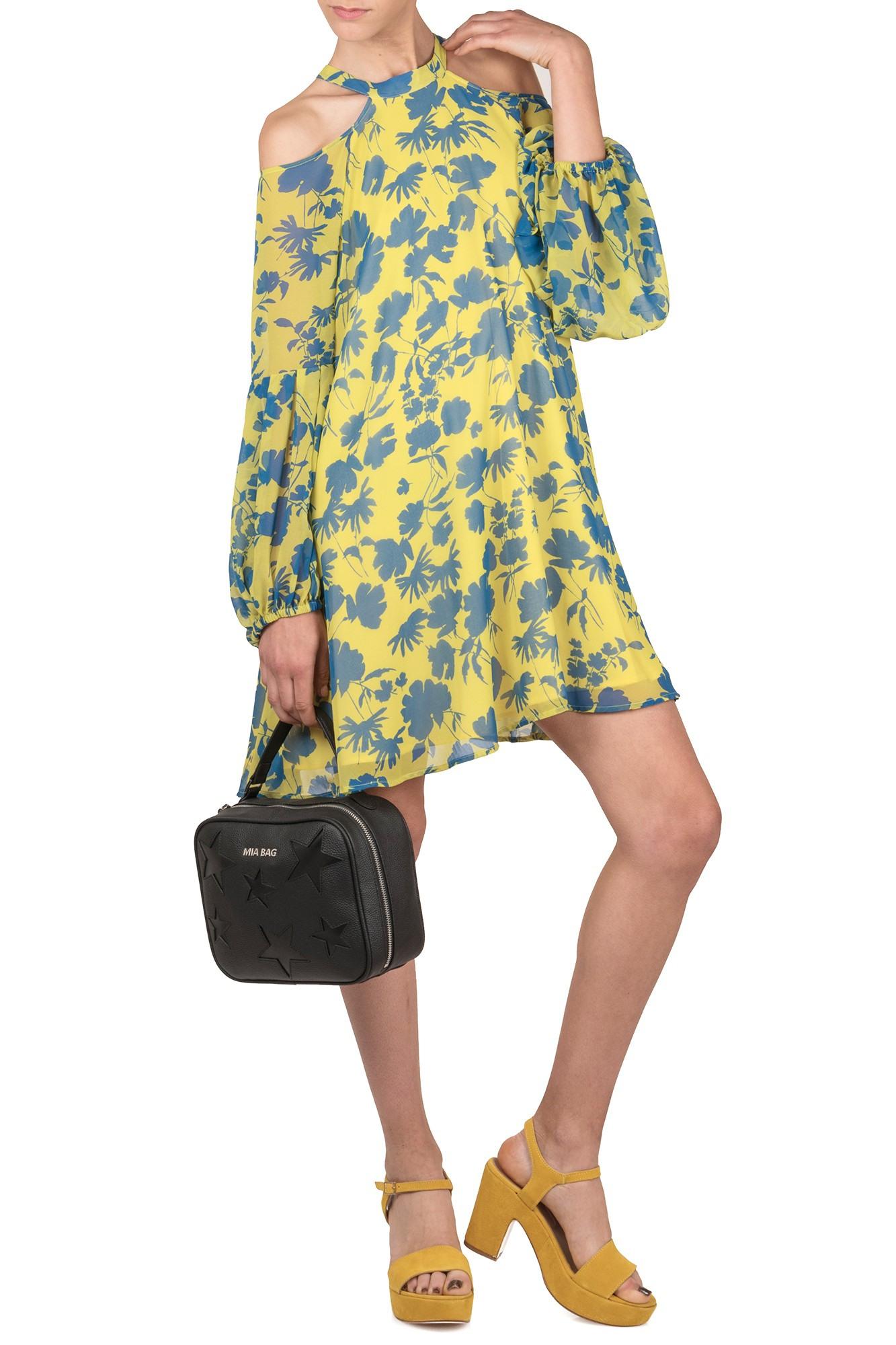 Kreativ Kleid Gelb Blau Galerie20 Luxus Kleid Gelb Blau Ärmel