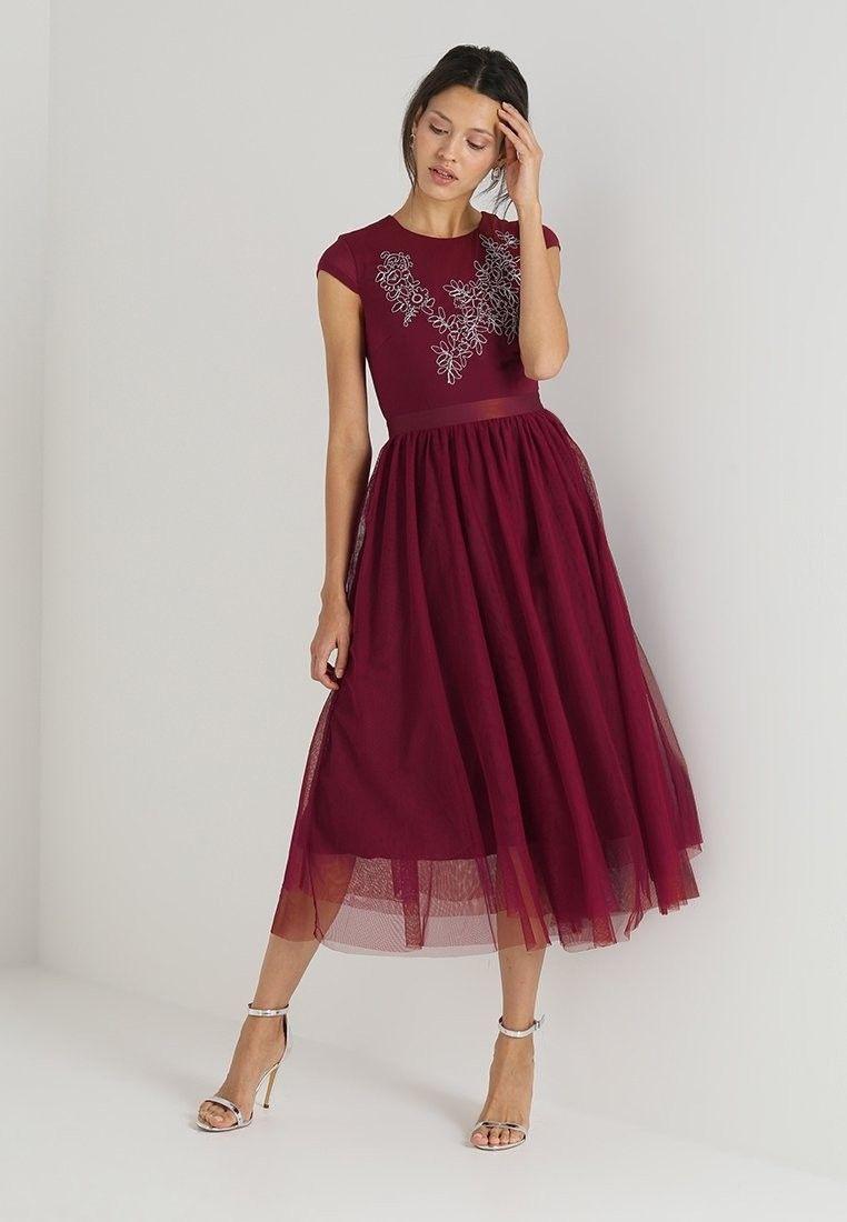 Designer Wunderbar Bordeaux Kleid Stylish Großartig Bordeaux Kleid Ärmel