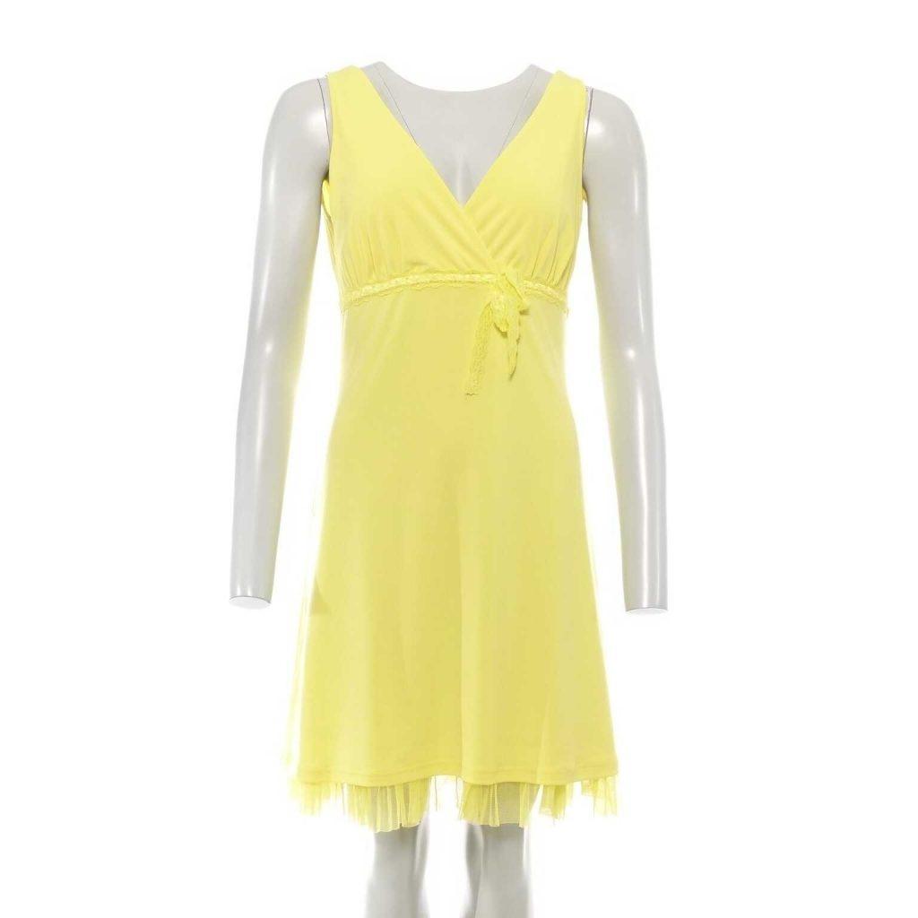 20 Erstaunlich Kleid Gelb Blau Bester PreisAbend Leicht Kleid Gelb Blau Ärmel