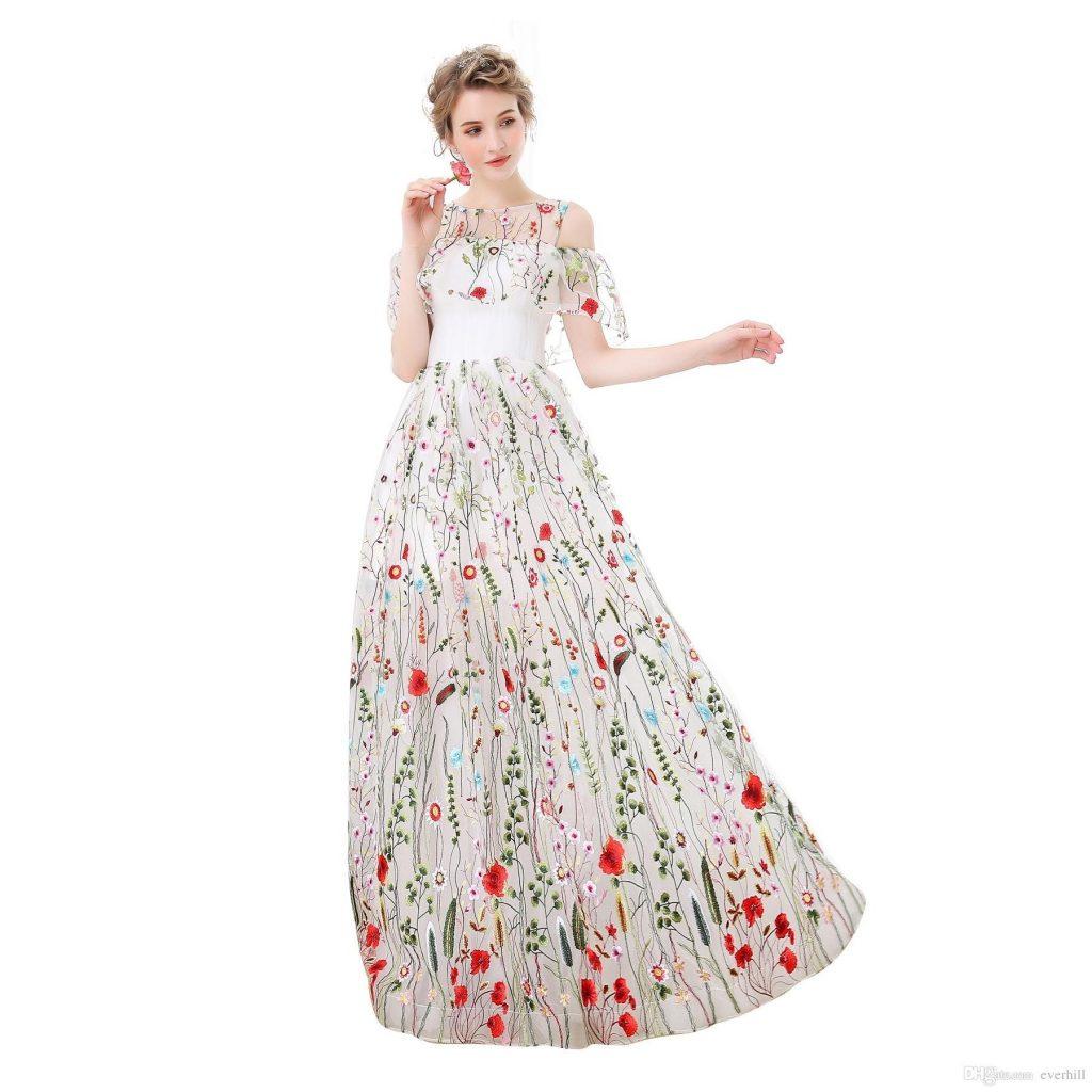 13 Erstaunlich Sommerkleid Weiß Lang Ärmel Schön Sommerkleid Weiß Lang Spezialgebiet
