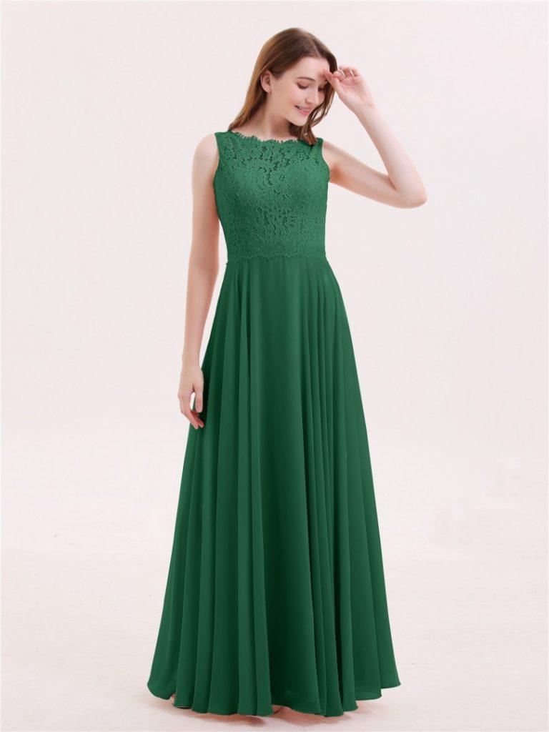 Einzigartig Kleid Lang Grün für 8 - Abendkleid