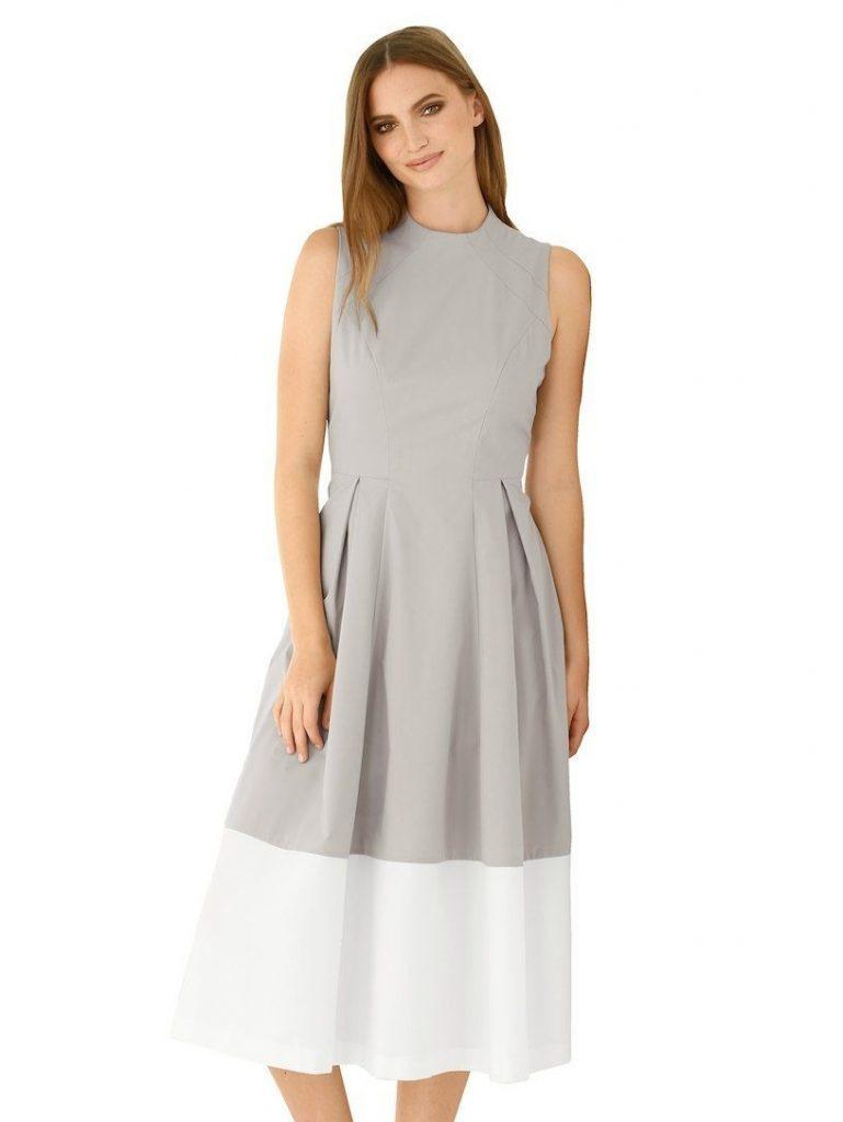 10 Top Sommerkleid Weiß Lang Ärmel Großartig Sommerkleid Weiß Lang Ärmel