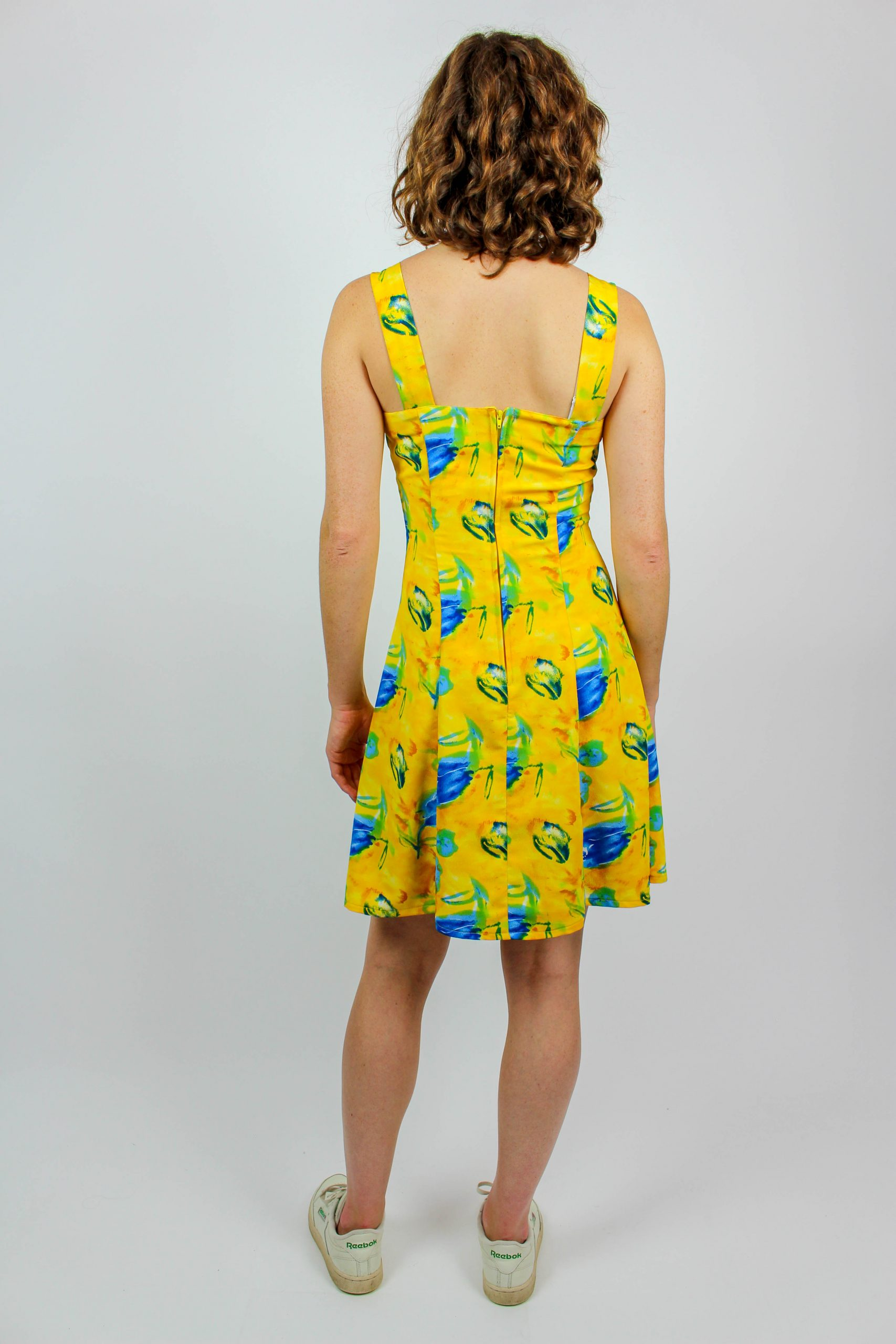 Formal Erstaunlich Kleid Gelb Blau Galerie Perfekt Kleid Gelb Blau Ärmel