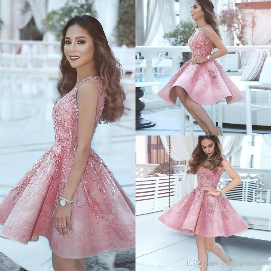 13 Wunderbar Kleid Rosa Kurz Boutique17 Leicht Kleid Rosa Kurz Stylish