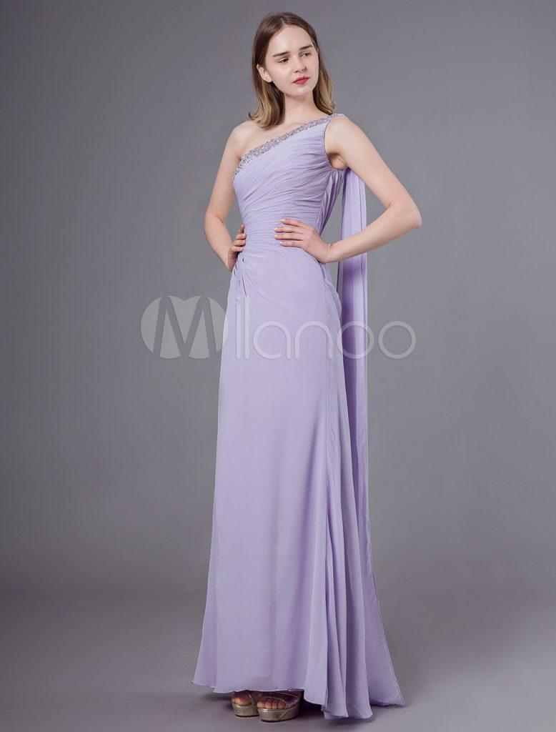 17 Schön Kleid Flieder Lang für 17 - Abendkleid