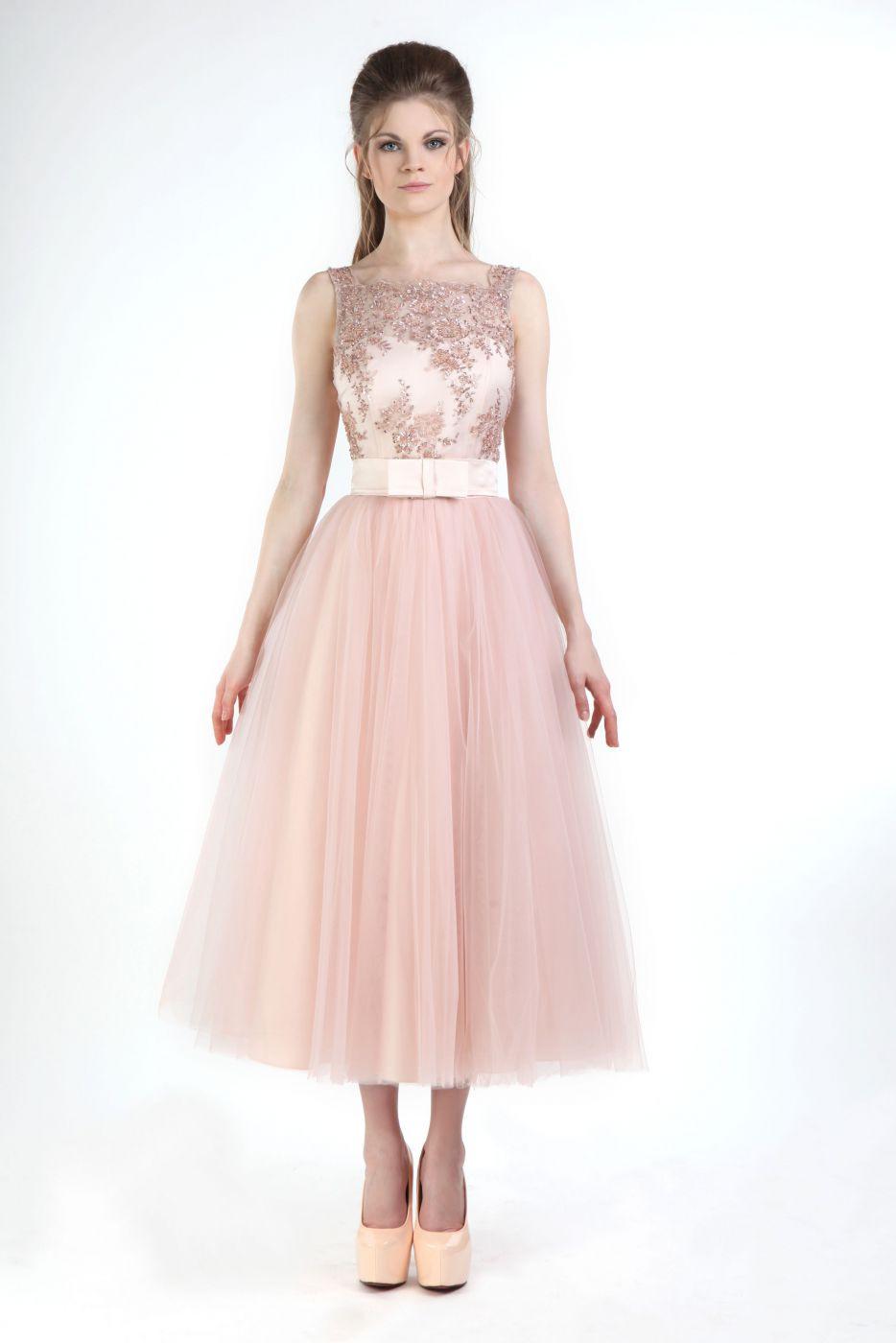 Abend Perfekt Kleid Rosa Festlich SpezialgebietFormal Coolste Kleid Rosa Festlich Design