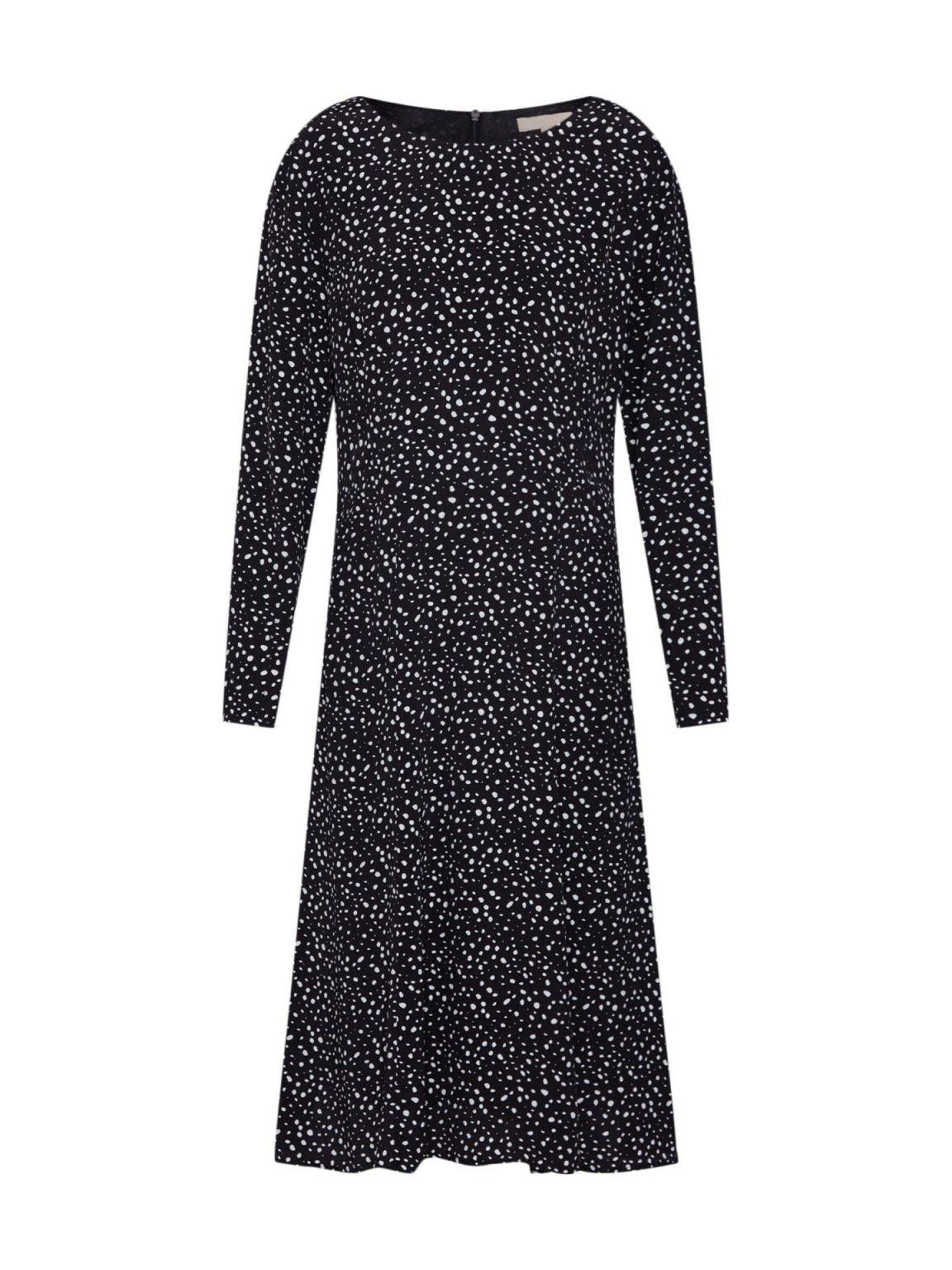 abend schön kleid schwarz weiß vertrieb - abendkleid