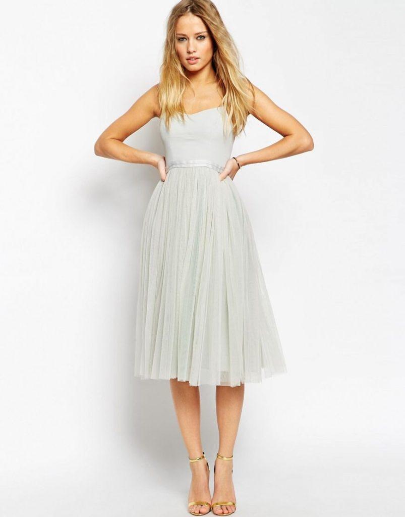 14 Schön Midi Kleider Hochzeitsgast Ärmel - Abendkleid