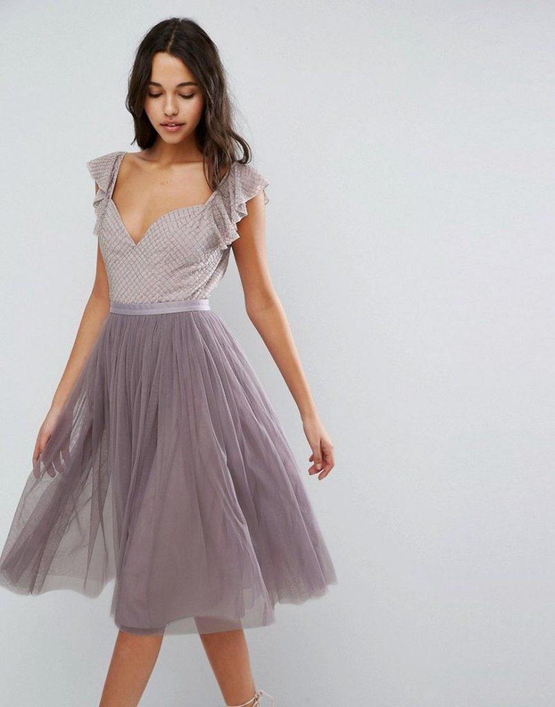 Abend Erstaunlich Midi Kleider Hochzeitsgast Boutique - Abendkleid