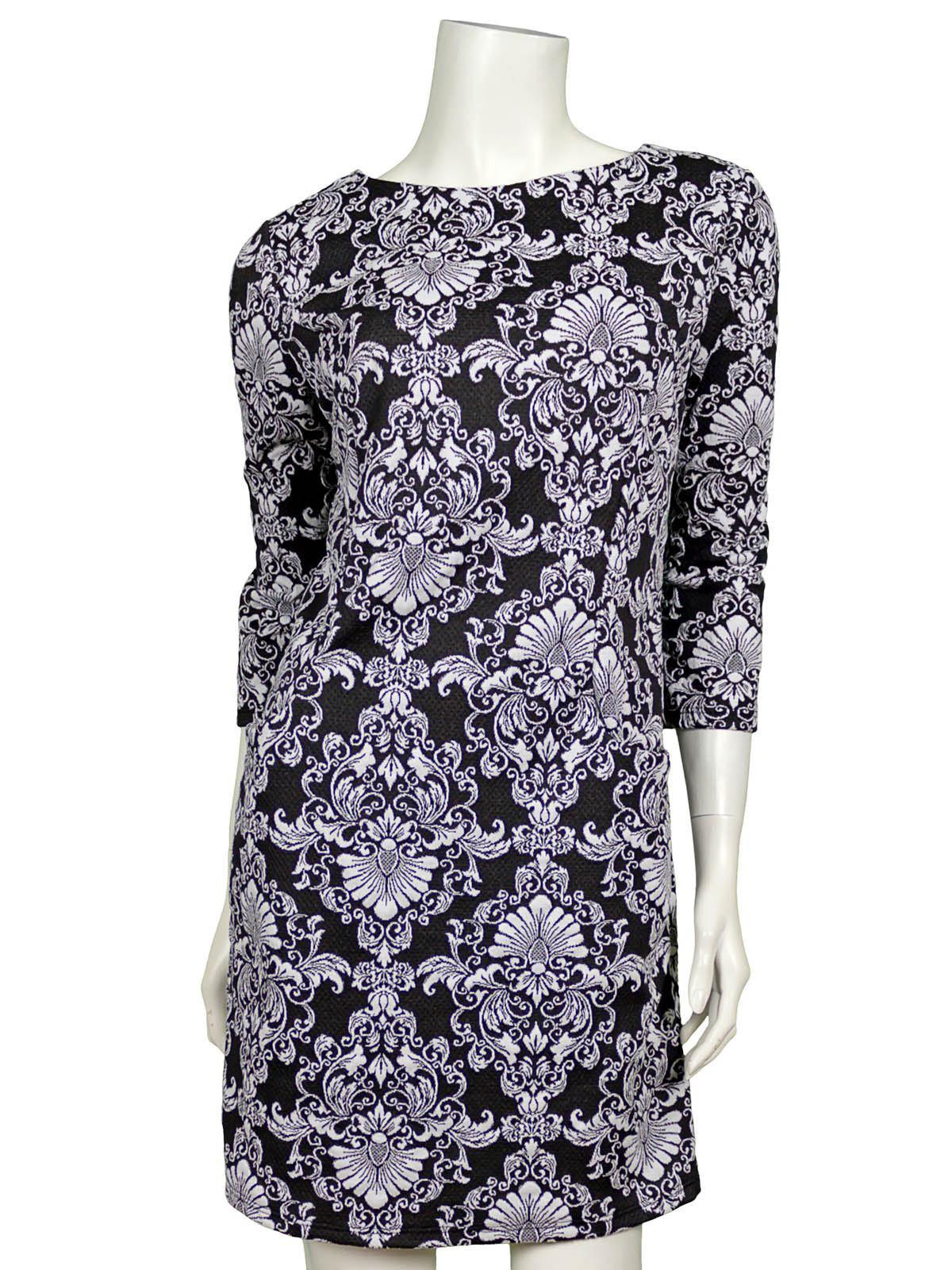 20 Fantastisch Kleid Schwarz Weiß Stylish17 Einfach Kleid Schwarz Weiß Spezialgebiet