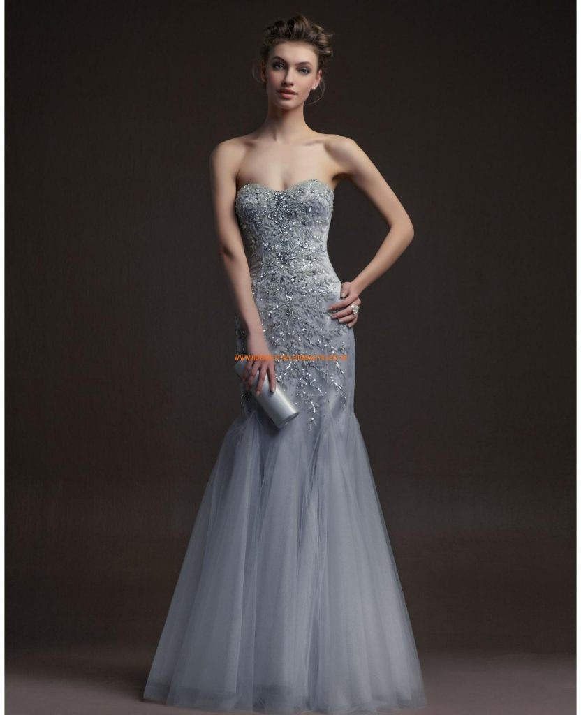 Einfach Abendkleider Günstig Kaufen Online Ärmel - Abendkleid