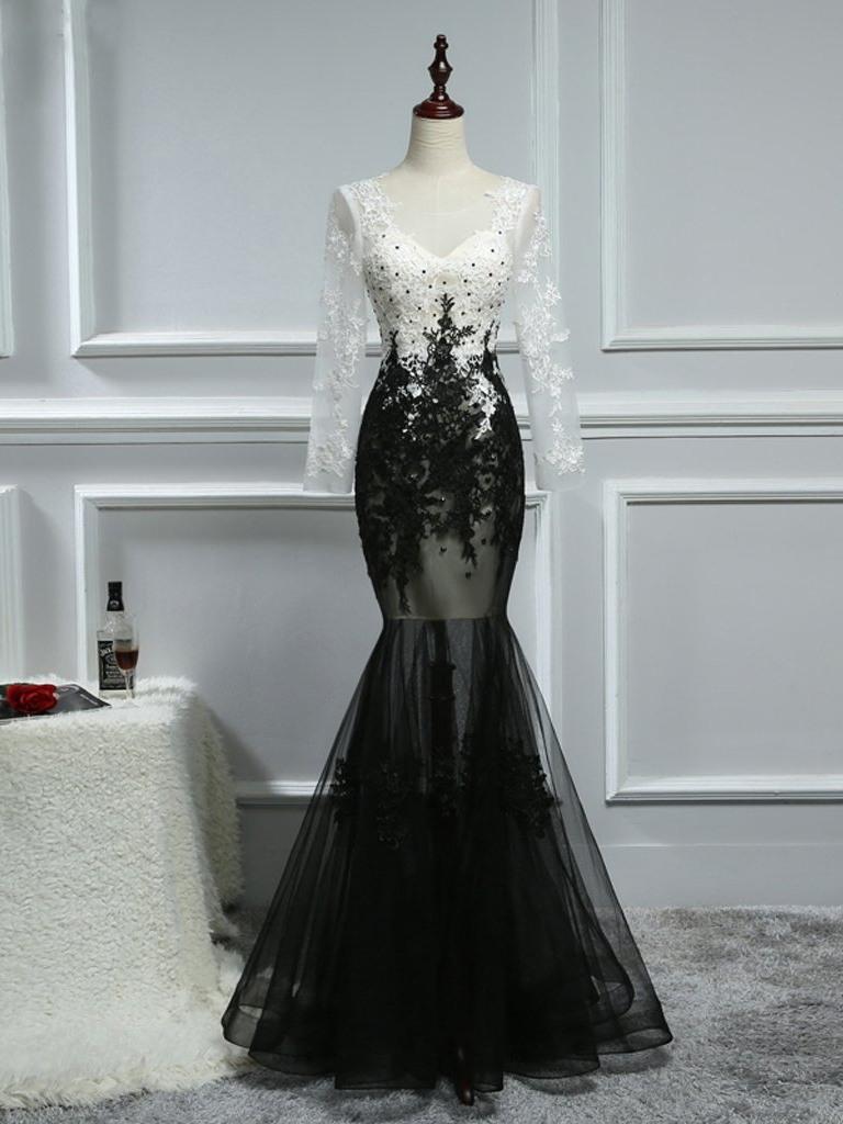 10 Luxurius Abendkleid Schwarz Lang Ärmel10 Top Abendkleid Schwarz Lang Bester Preis