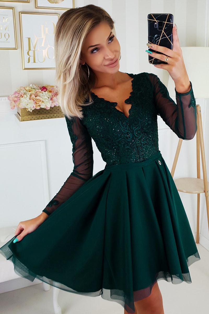 Abend Großartig Kleid Grün Festlich Stylish13 Cool Kleid Grün Festlich Design