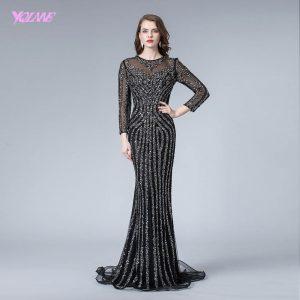 15 Coolste Abendkleid Schwarz Lang SpezialgebietDesigner Einzigartig Abendkleid Schwarz Lang Stylish