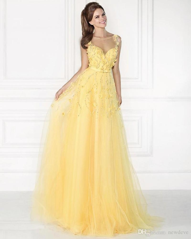 Coolste Gelbe Abend Kleider BoutiqueAbend Fantastisch Gelbe Abend Kleider Boutique