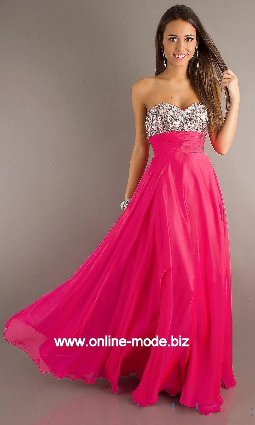 17 Spektakulär Abendkleider Lang Pink DesignAbend Schön Abendkleider Lang Pink Bester Preis
