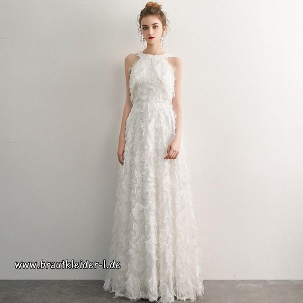 13 Einfach Kleid Lang Weiß Bester PreisDesigner Luxurius Kleid Lang Weiß Design