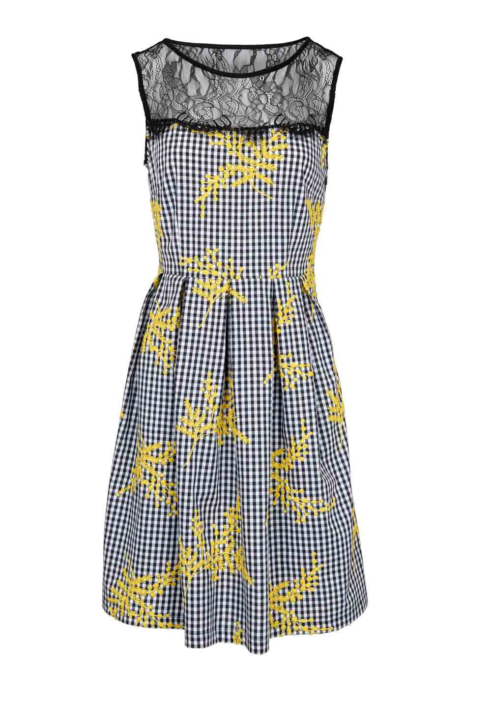 Abend Einzigartig Kleid Schwarz Gelb Galerie15 Schön Kleid Schwarz Gelb Boutique