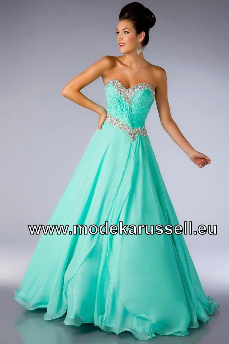 Designer Luxurius Grünes Kleid A Linie Vertrieb Elegant Grünes Kleid A Linie für 2019