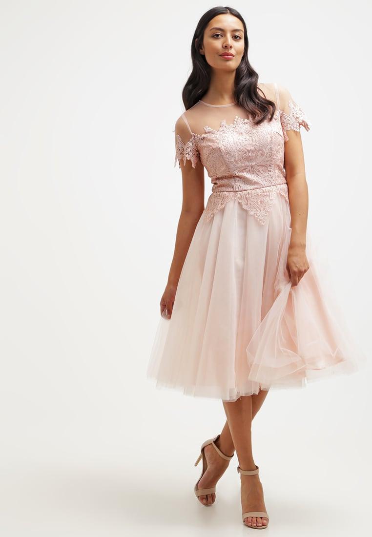 Elegant Festliches Kleid Rose ÄrmelFormal Elegant Festliches Kleid Rose Bester Preis