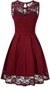 13 Wunderbar Rote Kleider Knielang ÄrmelFormal Top Rote Kleider Knielang Bester Preis
