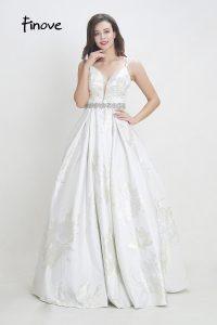 Formal Wunderbar Weiße Kleider Lang Ärmel15 Elegant Weiße Kleider Lang für 2019