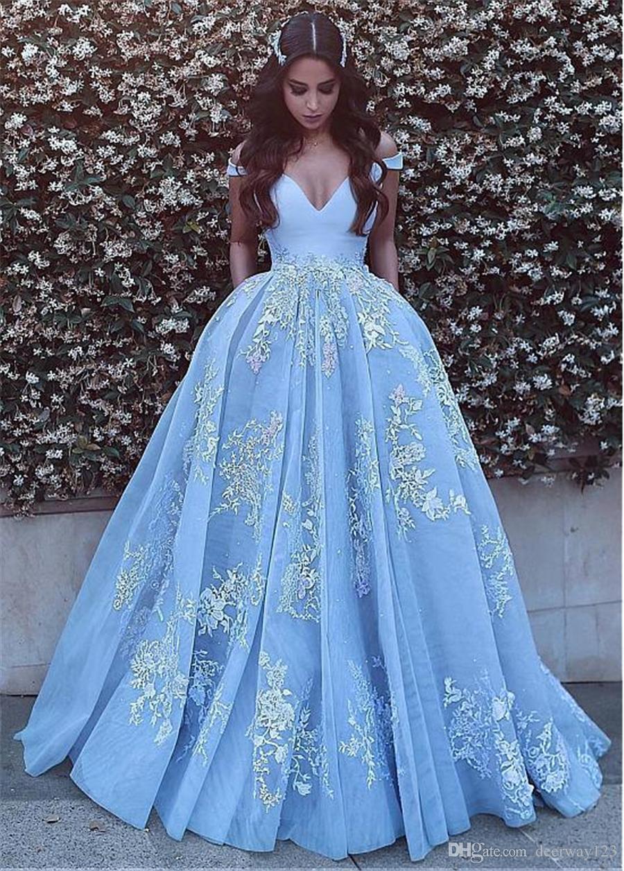 Abend Luxurius Blau Abendkleid für 2019 Spektakulär Blau Abendkleid Galerie