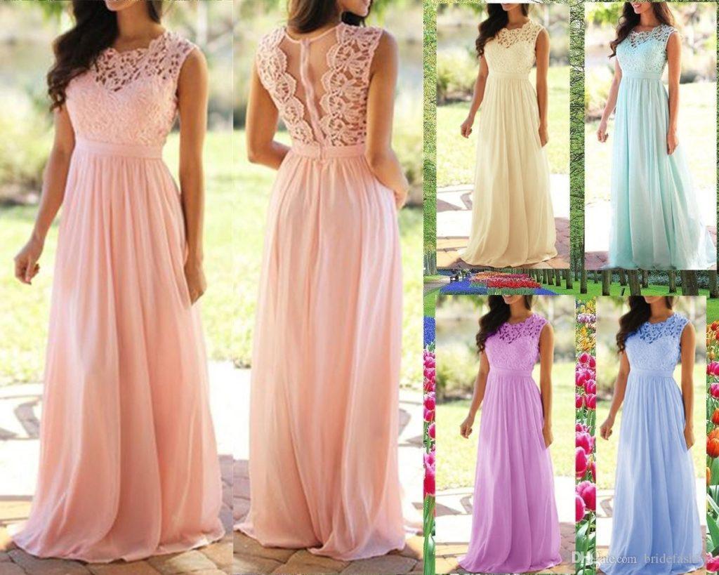 Abend Schön Kleid Pink Hochzeit für 2019Abend Schön Kleid Pink Hochzeit Design