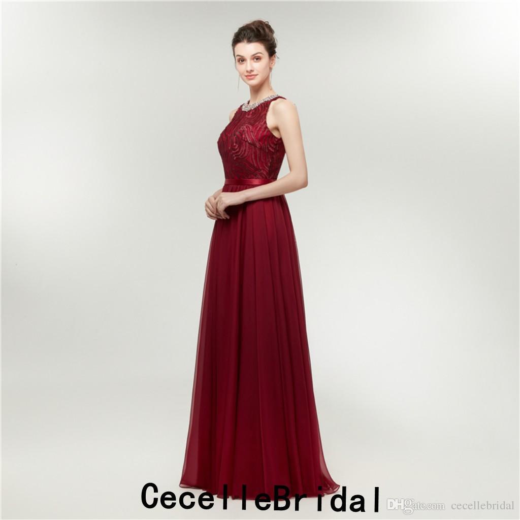 11 Elegant Abendkleid Dunkelrot Lang Boutique - Abendkleid