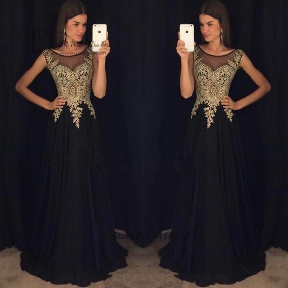 20 Fantastisch Abendkleid Lang Schwarz Gold Stylish Schön Abendkleid Lang Schwarz Gold Spezialgebiet