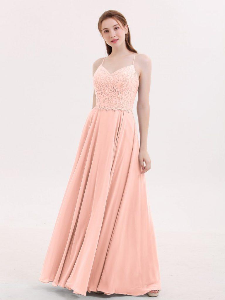 13 Großartig Langes Kleid Koralle Vertrieb - Abendkleid