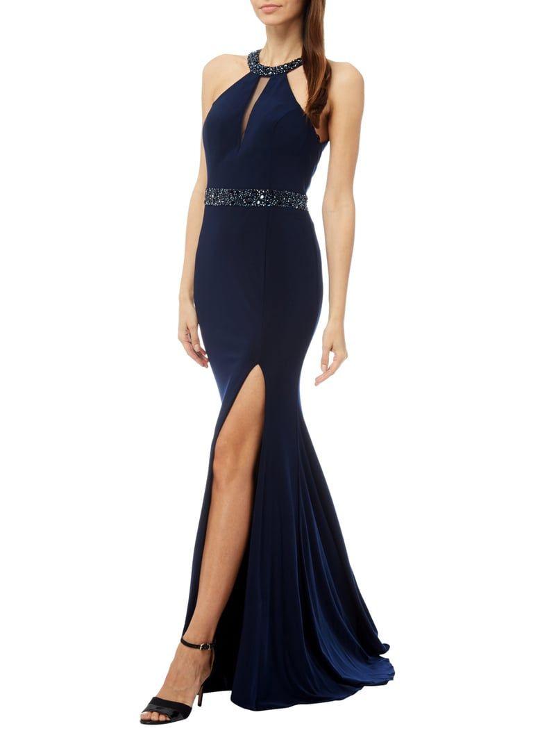 17 Luxurius P&C Abendkleid Dunkelblau Galerie17 Perfekt P&C Abendkleid Dunkelblau Ärmel