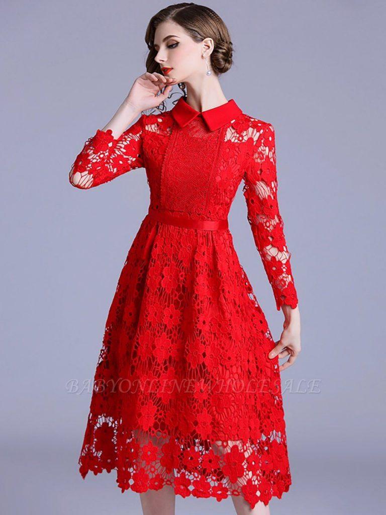 11 Luxurius Rote Kleider Knielang Boutique - Abendkleid