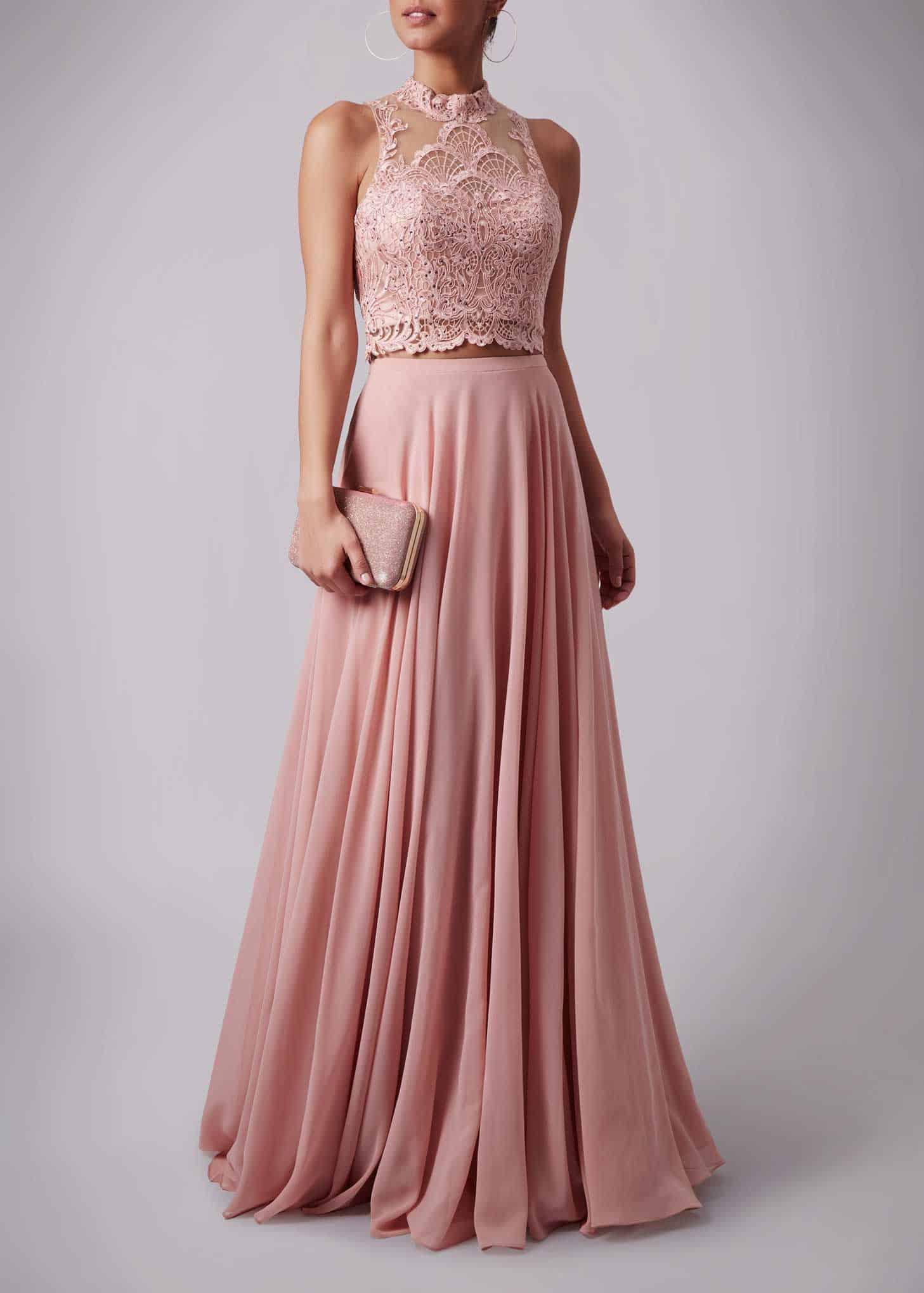 12 Luxus Abendkleid Zweiteiler Stylish - Abendkleid