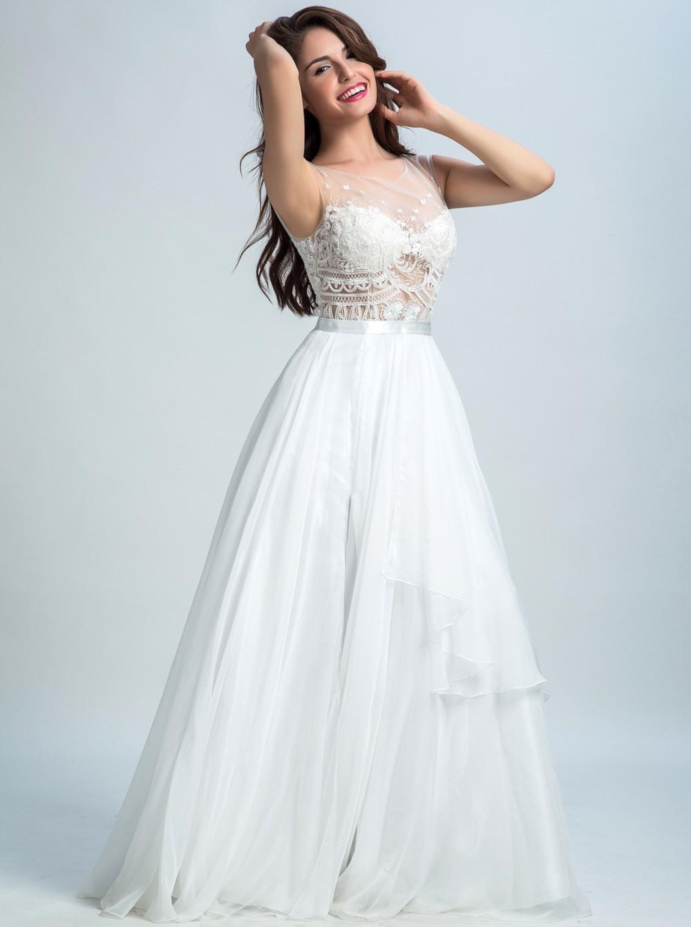 13 Perfekt Ballkleid Weiß Lang Vertrieb - Abendkleid