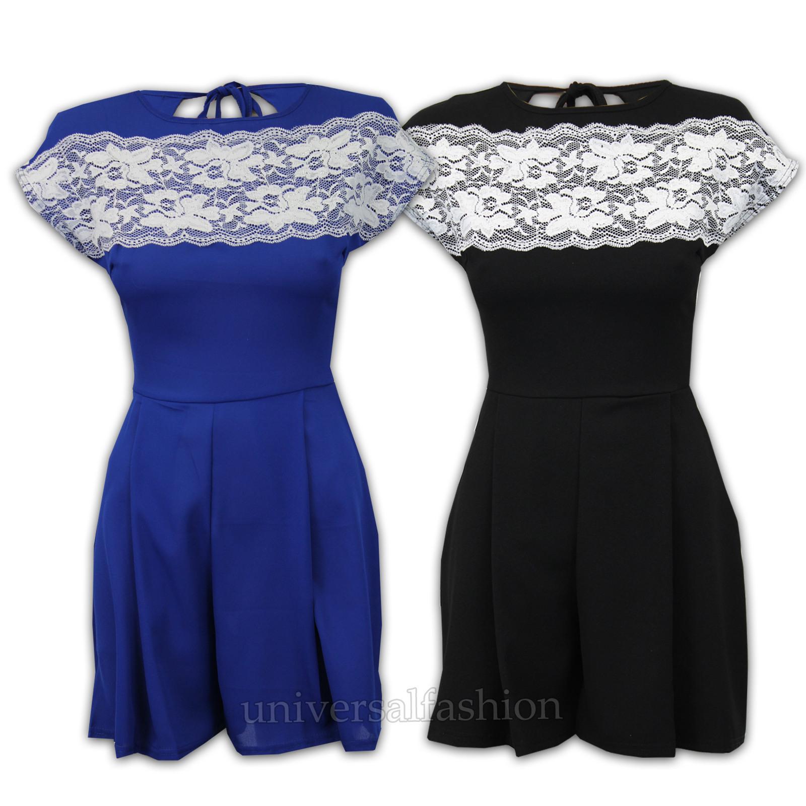 10 Ausgezeichnet Kleid Damen Kurz für 201920 Wunderbar Kleid Damen Kurz Bester Preis