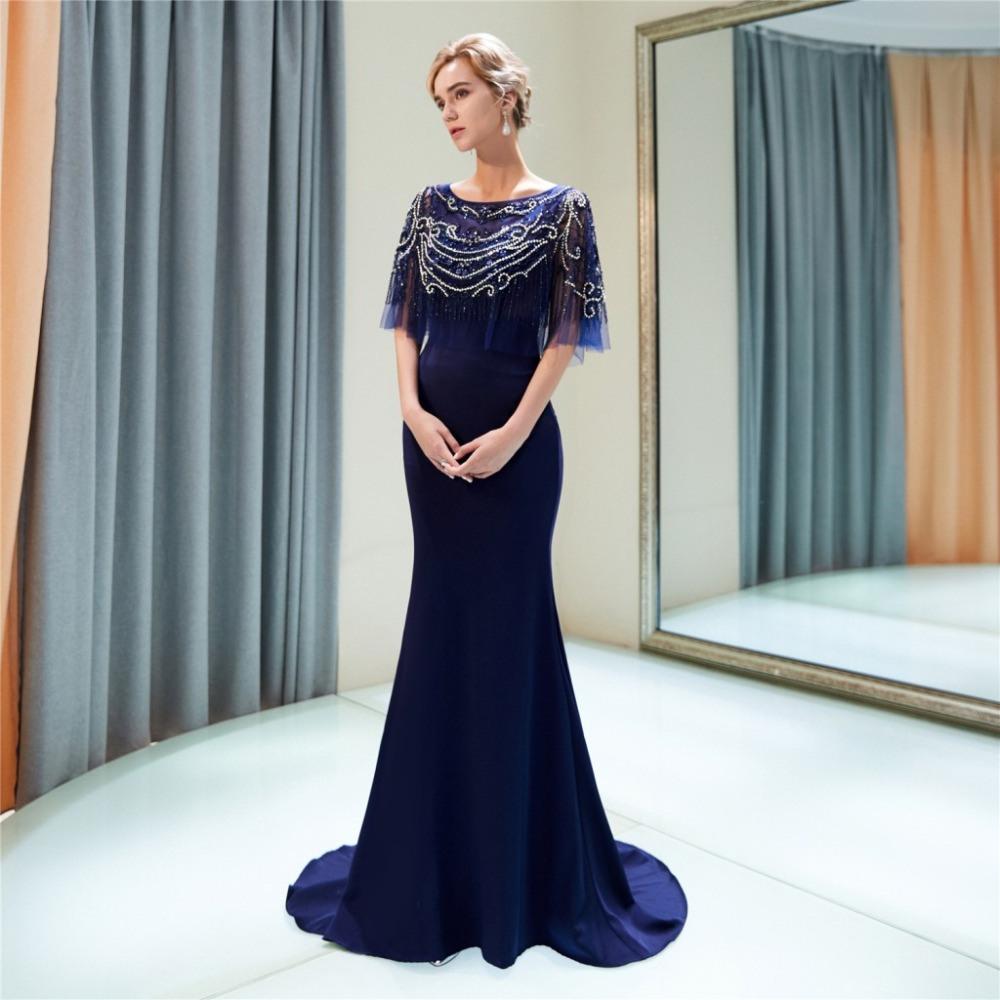 Abend Kreativ Abendkleid U Ausschnitt SpezialgebietDesigner Perfekt Abendkleid U Ausschnitt Ärmel