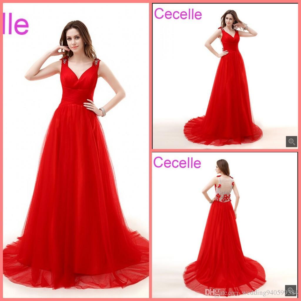 Schön Abendkleider Rot Lang StylishFormal Luxus Abendkleider Rot Lang Design