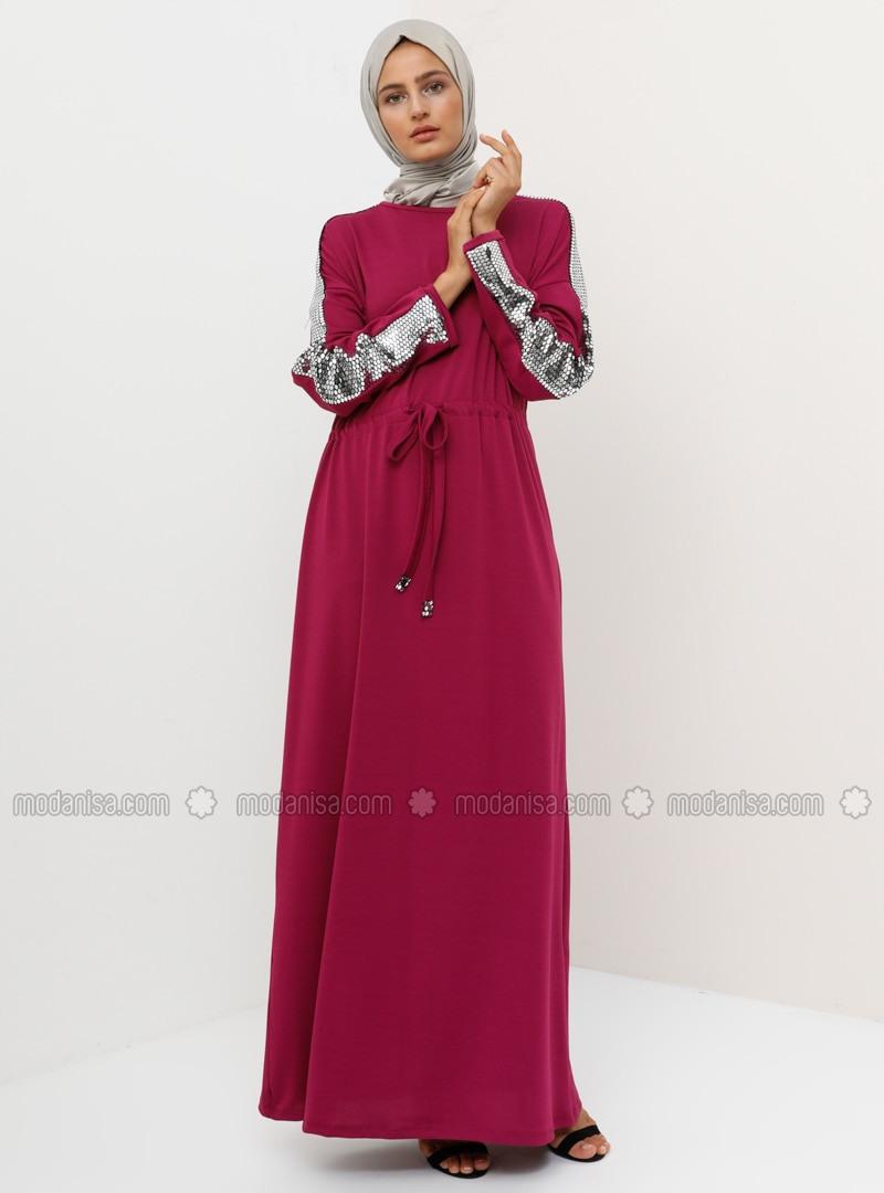 Abend Einzigartig Abendkleid Fuchsia StylishDesigner Einfach Abendkleid Fuchsia Ärmel